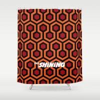 kubrick Shower Curtains featuring The.Shining. by IIIIHiveIIII