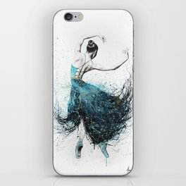 Gold River Dance iPhone Skin