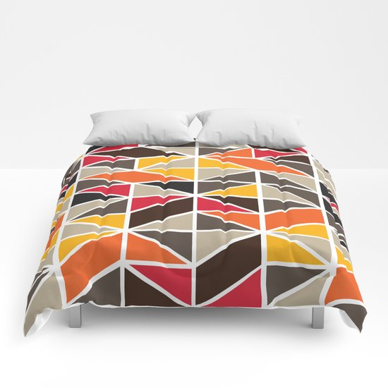 African Tribal Pattern No. 3 Comforters