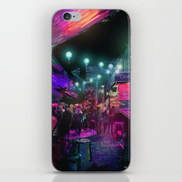 Tunes of the Night iPhone Skin