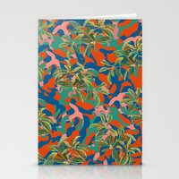 camouflage Stationery Cards featuring CAMOUFLAGE by DIVIDUS