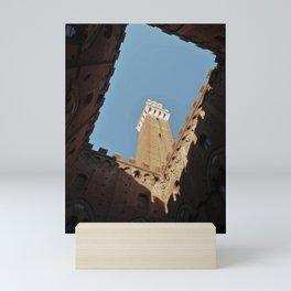 Contrasts in Siena, Italy Mini Art Print