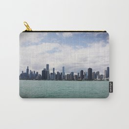 Chicago Skyline Day Color Photo Carry-All Pouch