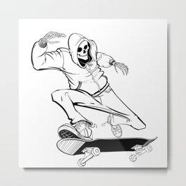 """""""Skate or Die!"""" Metal Print"""