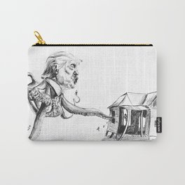 Trump Octopus and tax reform (Trump even sucks as a sea creature) Carry-All Pouch