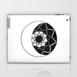 Crescent Moon Mandala Laptop & iPad Skin