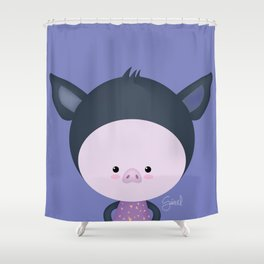 Flush Shower Curtain