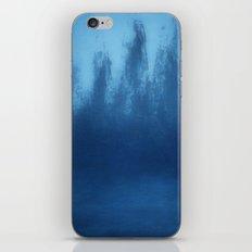 Cobalt Blue Ombre iPhone & iPod Skin