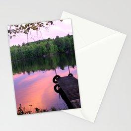 River Sunset Stationery Cards