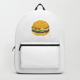 Pixel Burger Backpack