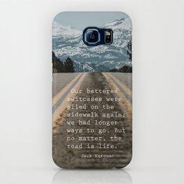Kerouac quote iPhone Case