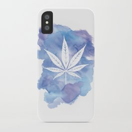 One Love: Blue iPhone Case