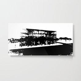 Monospective Metal Print