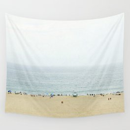 Santa Monica Beach Wall Tapestry