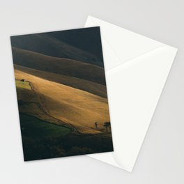 Contrasts on the hills Stationery Cards