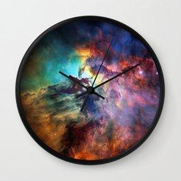 Lagoon Nebula Wall Clock