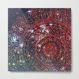Space mandala 2 Metal Print