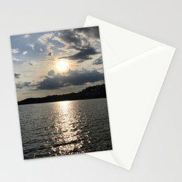 Afternoon on the Lake Stationery Cards