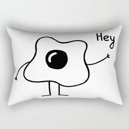 Egg face Rectangular Pillow