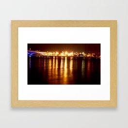 Niagara River Blues Framed Art Print