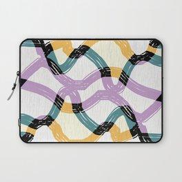 Weave abstract art Laptop Sleeve