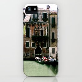 Water Filled Alleyway  iPhone Case