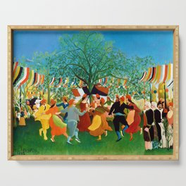 Henri Rousseau - A Centennial of Independence - Digital Remastered Edition Serving Tray