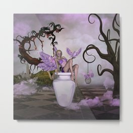 Beautiful fairy Metal Print