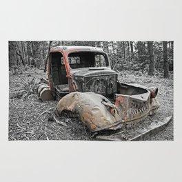 Rusty Truck Rug