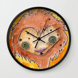 """""""Oro?"""" Leo Wall Clock"""