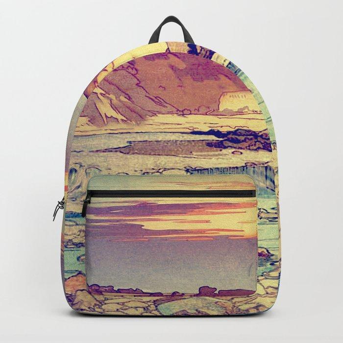 Sunset at Yuke Backpack