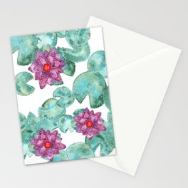 Lily Pads Stationery Cards
