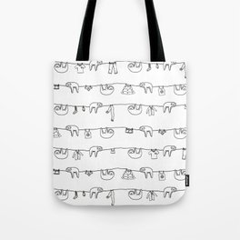 Sloth Laundry Time Tote Bag