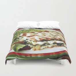 Lasagna Dinner Duvet Cover