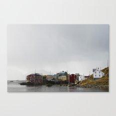 Nyksund, Lofoten Canvas Print