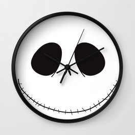 Jack Skellington Halloween Wall Clock