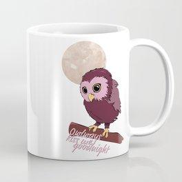 Owlways kiss me goodnight Coffee Mug