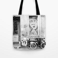 B&W STREETART BERLIN by Jay Hops Tote Bag