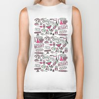 kitchen Biker Tanks featuring Kitchen by Beatriz Sanches