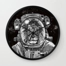 Astronaut Lion King Selfie Wall Clock
