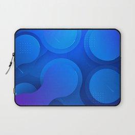Modern abstract liquid art Laptop Sleeve