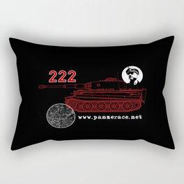 Michael Wittmann Panzer Ace 222 Villers Bocage Black Rectangular Pillow