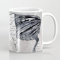 nordic Mugs featuring Nordic Reindeer by Pencil Studio
