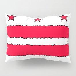 Fancy Flag: Washington, DC    District of Columbia Pillow Sham