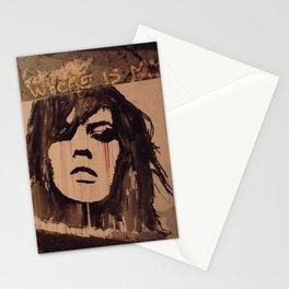 Graffiti Girl Paris Stationery Cards