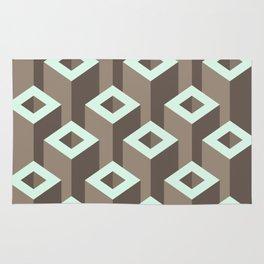 Geometric abstract  Monochrome  #society6 #decor #buyart #artprint Rug