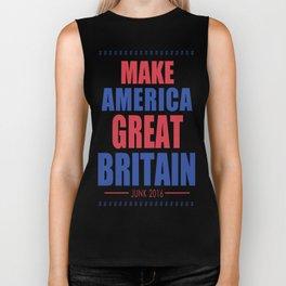 DGM MAKE AMERICA GREAT BRITAIN Biker Tank