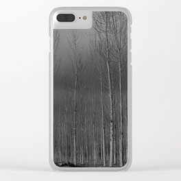 Sentinels Clear iPhone Case