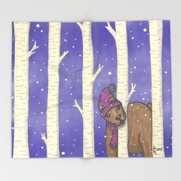 Bear With Me Throw Blanket
