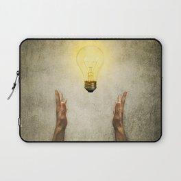 bulb idea Laptop Sleeve